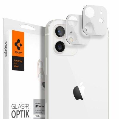 Nakładka na obiektyw SPIGEN Optik.Tr Camera Lens 2szt. do Apple iPhone 12 Biały