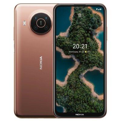 """Smartfon NOKIA X20 DS 8/128GB 6.67"""" 5G Piaskowy + Nokia Lite Earbuds BH-205 Czarny"""