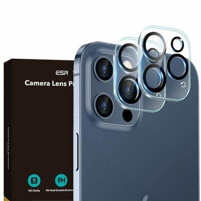 Nakładka na obiektyw ESR Camera Lens do Apple Iphone 12 Pro Przezroczysty (2 szt.)