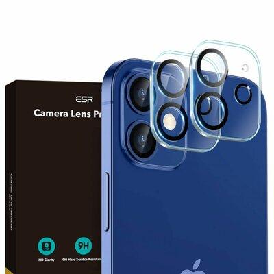 Nakładka na obiektyw ESR Camera Lens do Apple Iphone 12 Mini Przezroczysty (2 szt.)