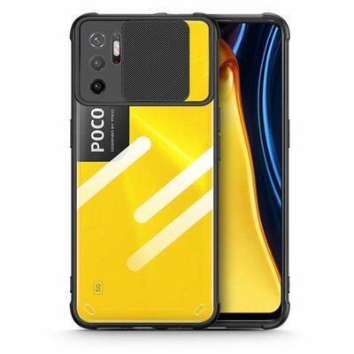 Etui TECH-PROTECT Camshield do Xiaomi Poco M3 Pro 5G/Redmi Note 10 5G Czarny