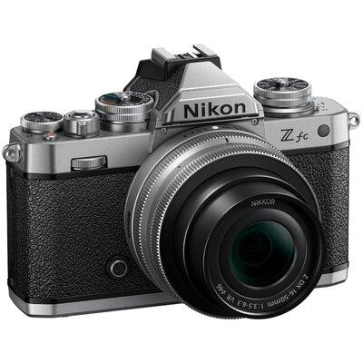 Aparat NIKON Z fc + Obiektyw 16-50mm f/3.5-6.3 Srebrny + Obiektyw 50-250mm f/4.5-6.3
