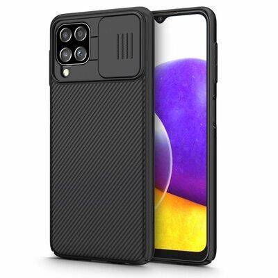 Etui NILLKIN Camshield do Samsung Galaxy A22 LTE Czarny