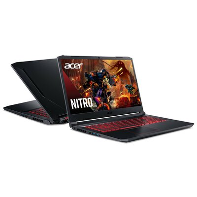 "Laptop ACER Nitro 5 AN517-52-57VM 17.3"" 144Hz IPS i5-10300H 16GB SSD 1TB GeForce RTX3050Ti Windows 10 Home"