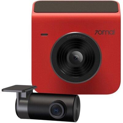 Wideorejestrator 70MAI A400 + kamera tylna RC09 Czerwony