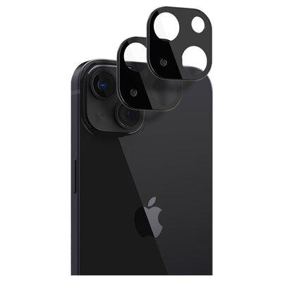 Szkło hartowane SPIGEN Optik.Tr Camera Lens Protector 2-Pack do Apple iPhone 13/13 mini Czarny