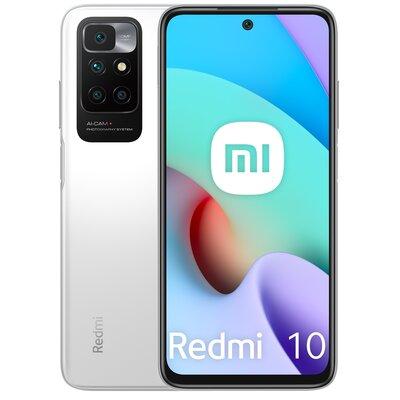 """Smartfon XIAOMI Redmi 10 4/128GB 6.5"""" 90Hz Biały 35244"""