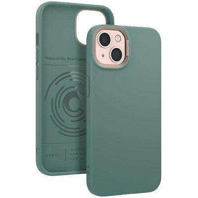 Etui SPIGEN CYRILL Color Brick do Apple iPhone 13 Zielony