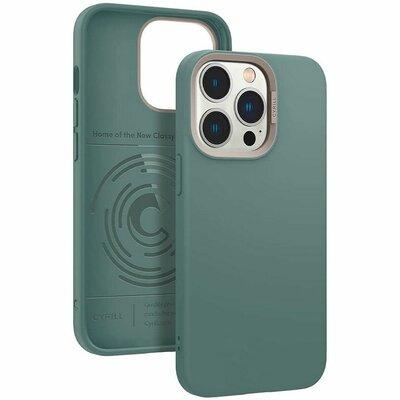 Etui SPIGEN CYRILL Color Brick do Apple iPhone 13 Pro Zielony