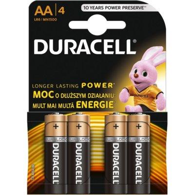 Baterie AA LR6 DURACELL Basic (4 szt.) Electro 161811