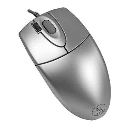 Mysz A4TECH OP-620D Srebrny Electro 707834
