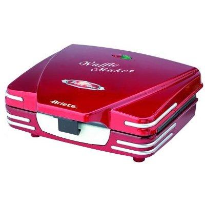 Gofrownica ARIETE 187 Waffle Maker Czerwony Electro 782196