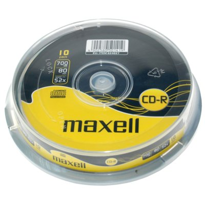 Płyta MAXELL CD-R 700MB 52x Cake 10 szt. Electro 782741