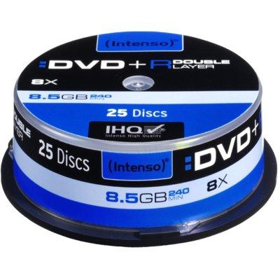Płyta INTENSO DVD+R Double Layer Electro 728756