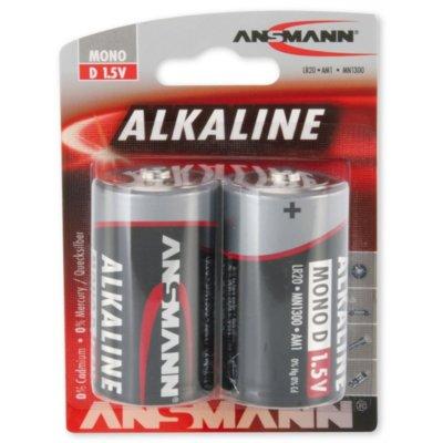 Baterie D LR20 ANSMANN Red Mono (2 szt.) Electro 323459