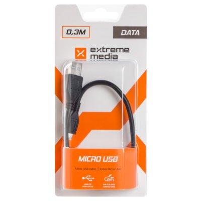 Kabel USB – Micro USB NATEC-EM 0.3 m Electro 351430