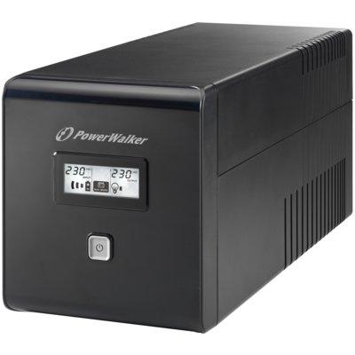 Zasilacz UPS POWERWALKER VI 1000 LCD Schuko Electro 283241