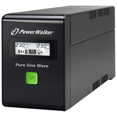 Zasilacz POWERWALKER UPS VI 600 SW/FR Line-interactive 600VA Electro 733462