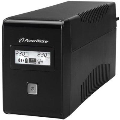 Zasilacz UPS POWERWALKER Line-Interactive VI 650 SE LCD Electro 250962