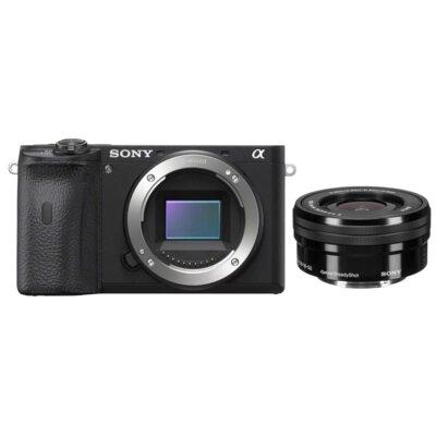 Aparat SONY Alpha a6000 Czarny + Obiektyw 16-50mm