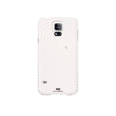 Etui HAMA do Galaxy S5 White Diamonds Heart Beat Biały Electro 792770