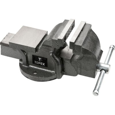 Imadło ślusarskie TOPEX 07A110 100 mm Electro 837035