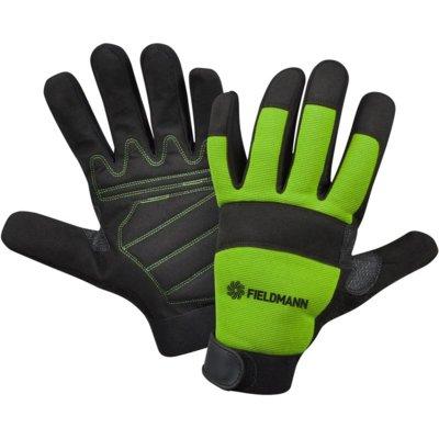 Rękawice ogrodowe FIELDMANN FZO 6010 Czarno-zielony (rozmiar XL) Electro 834508