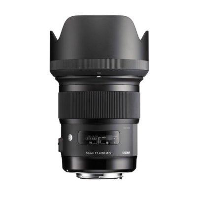 Obiektyw SIGMA A 50/1.4 A DG HSM Nikon Electro 788718