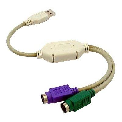 Kabel USB – 2x PS/2 GEMBIRD 0.5 m Electro 710688