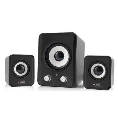 Głośniki LOGIC CONCEPT 2.1 LS-20 Czarny Electro 845517