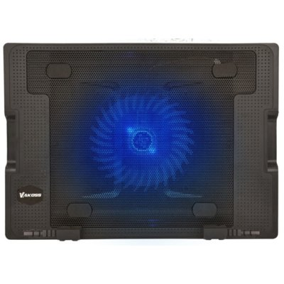 Podstawka chłodząca VAKOSS do laptopa 17 cali LF-1860 Czarny