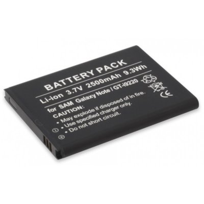 Bateria ANSMANN do Samsung Galaxy Note GT-I9220 (2500 mAh) Electro 348466