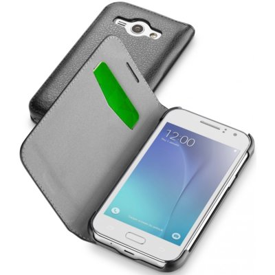 Etui CELLULAR LINE Book Essential do Samsung Galaxy J1 Czarny Electro 368460