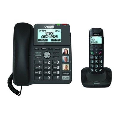 Telefon VTECH LS1650 Czarny Electro 851519