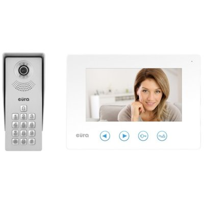 Wideodomofon EURA VDP-12A3 Tytan Biały Electro 399683
