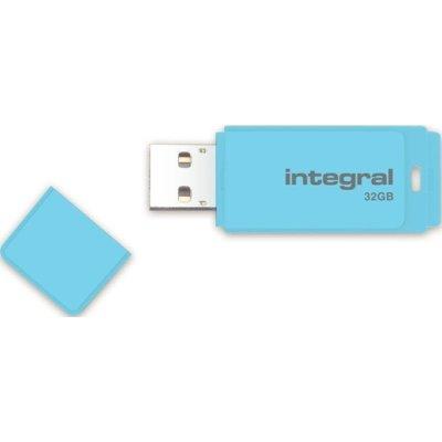 Pamięć INTEGRAL Pastel 32 GB Niebieski Electro 856650