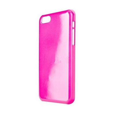 Etui XQISIT iPlate Glossy do iPhone 5C Różowy Electro 850516