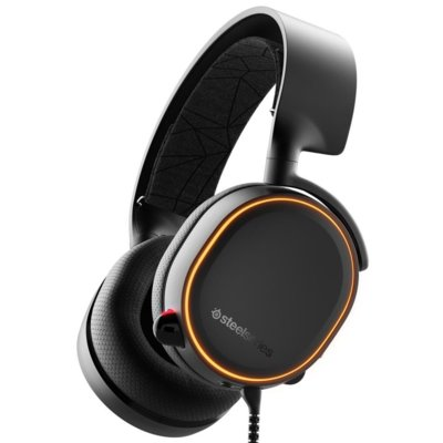 Słuchawki STEELSERIES Arctis 5 Czarny Electro 864642