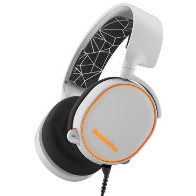 Słuchawki STEELSERIES Arctis 5 Biały Electro 864643