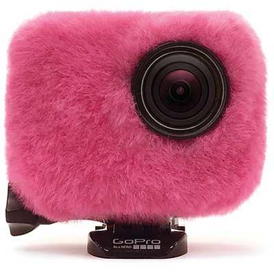 Osłona przeciwwietrzna REMOVU do GoPro 3/ 3+/ 4 Wind Jacket Różowy