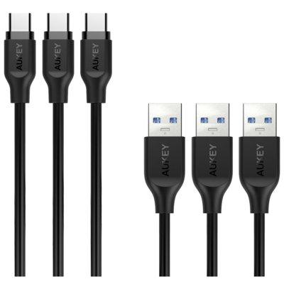 Kabel AUKEY USB Typ C (1 m) Electro 880382