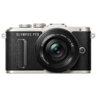 Aparat OLYMPUS E-PL8 + Obiektyw 14-42mm Czarny Electro 872092