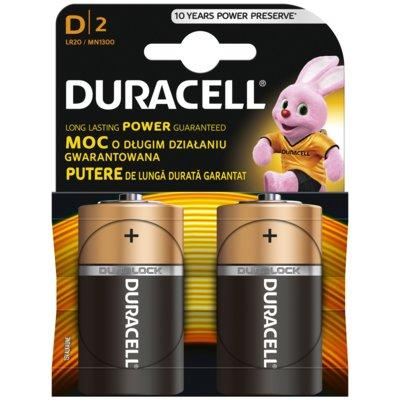 Baterie D LR20 DURACELL Basic (2 szt.) Electro 873741