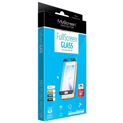 Szkło hartowane MYSCREEN PROTECTOR Fullscreen Glass do Galaxy S8 Czarny Electro 871746