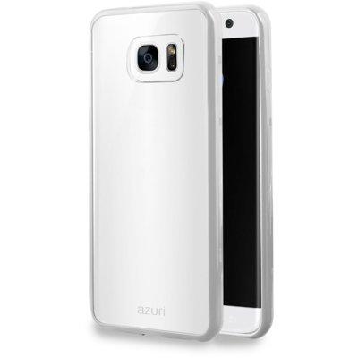 Etui AZURI Bumper Cover do Samsung Galaxy S7 Edge Biały Electro 403941