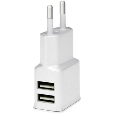 Ładowarka WG Dual USB 2×2.4A Biały Electro 877925
