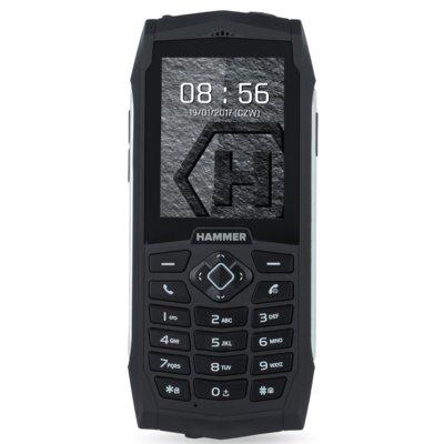 Telefon HAMMER 3 Srebrny Electro 875782