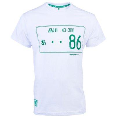 Koszulka PROJEKT 86 005WT (rozmiar S) Biały Electro e984441