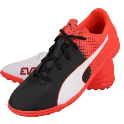 Buty PUMA EvoSpeed 5.5 TT 103630-03 (rozmiar 37) Biało-czarno-czerwony Electro 375495