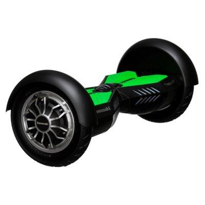 Deskorolka elektryczna hoverboard KAWASAKI KX-PRO10.0A Czarno-zielony Electro 876786